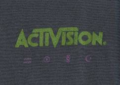 Activision logo over left breast. [126KB]